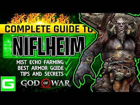 God of War Complete Guide to Niflheim | How to Get the Best Armor & Fully Upgrade It | (GOW 2018)