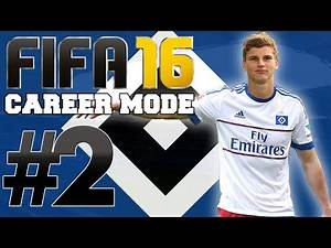 FIFA 16 | Bundesliga Career Mode | #2 | New Young Striker Signs & Our First Game