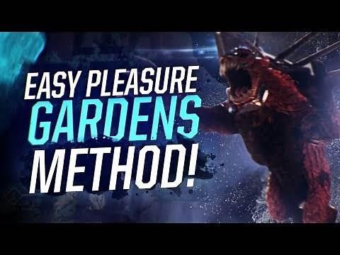 Destiny 2: EASY PLEASURE GARDENS METHOD! Best Leviathan Raid Dogs Strategy!