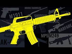 TOP 10 Most Popular Weapons in Video Games
