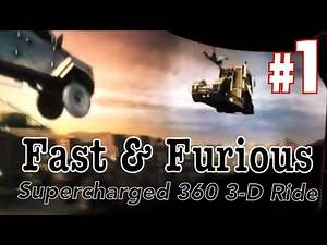 2018: Fast & Furious Supercharged 360 3D Ride Universal Studio Hollywood (AWESOME!!!)