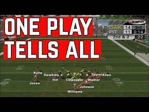 ONE PLAY Shows Why NFL 2K5 Still Owns Madden.