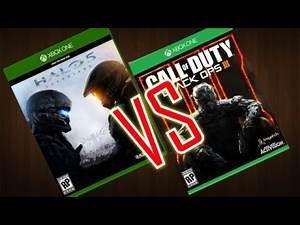 Halo 5 Vs Call Of Duty Black Ops 3 ¿Cuál comprar? XBOX ONE