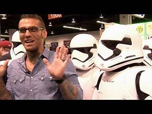 Corey Graves gets a closer look at Star Wars costumes (WWE Network Exclusive)