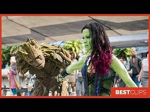 Guardians of the Galaxy First Meeting Scene | Guardians of the Galaxy (2014) Movie CLIP 4K