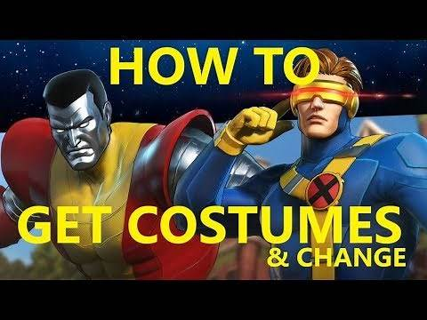 Marvel Ultimate Alliance 3 How to Unlock Costumes & Change Outfits