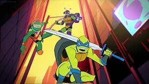 Rise of the Teenage Mutant Ninja Turtles Episode 7 – Origami Tsunami