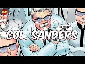 Who is DC Comics' Colonel Sanders? Fried Chicken with a Vengeance