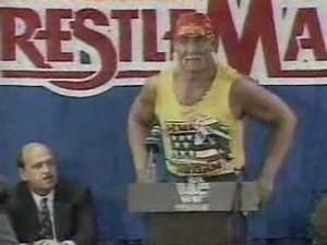 Wrestlemania 8 Press Conference
