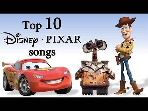 Top 10 Disney-Pixar songs (Top 10 najlepszych piosenek od Disney-Pixar)