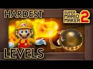 10 Hardest Levels in Story Mode - Super Mario Maker 2