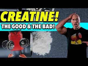 CREATINE! 4 Reasons It's GREAT For The Gym & 4 Reasons It SUCKS!