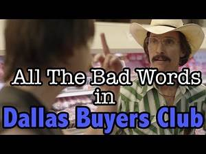 All The Bad Words In Dallas Buyers Club | Swearing Compilation