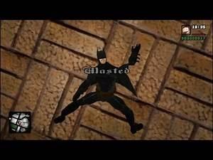 GTA San Andreas Wasted BATMAN #95 (Fails, Funny Moments)