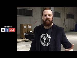 Sheamus arrives to O2 Arena for match no. 4 in a Best of Seven Series against Cesaro