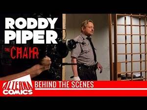 BEHIND THE SCENES: Roddy Piper in THE CHAIR - WWF - WWE LEGEND - They Live