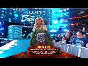 WWE HELL in a CELL 2018 - Charlotte Flair Entance