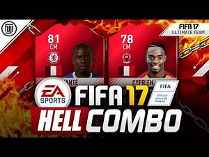 FIFA 17 HELL COMBO SQUAD!!! #YOURTEAM - FIFA 17 Ultimate Team