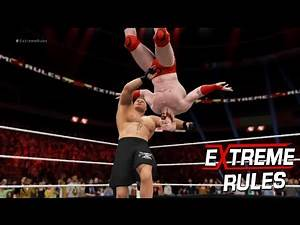 Extreme Rule 2016: Brock Lesnar vs Sheamus Extreme Rule Match| at Extreme Rule 2016-WWE-2K16