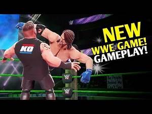 BEST NEW WWE GAME!? Gameplay & How Does It Play!