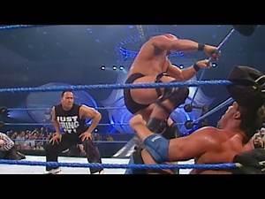 """Stone Cold"" Steve Austin vs. Kurt Angle - WWE Championship Match: SmackDown, March 1, 2001"