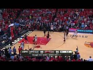 Derrick Rose's vs LeBron James' game-winner - Which one was better? (Game 3 and 4)