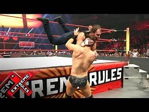 Dean Ambrose comes extremely close to getting disqualified: WWE Extreme Rules 2017 (WWE Network)