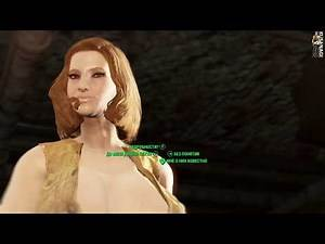Fallout 4 Motoko Kusanagi Ghost in the Shell моd skin # 74