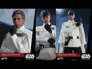 Rogue One Star Wars Hot Toys Director Krennic 1/6 Scale Movie Figure Reveal!