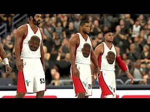 NBA 2K17 4K My Team - Smoovest 1st Quarter Domination! PS4 Pro
