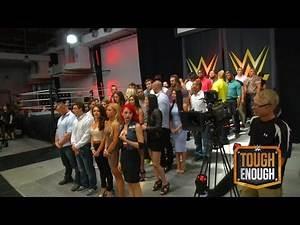 WWE Tough Enough coaches address the final 40 - WWE #ToughEnough