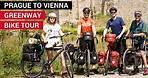 PRAGUE to VIENNA Greenway Bike Tour - FULL MOVIE