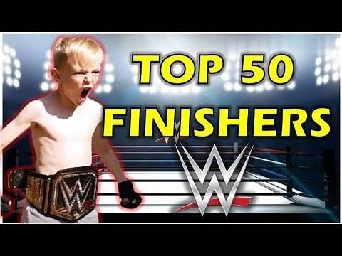 TOP 50 WWE FINISHERS ON TRAMPOLINE BEST WWE WRESTLING MOVES (TRAMPOLINE WRESTLING) WRESTLEMANIA