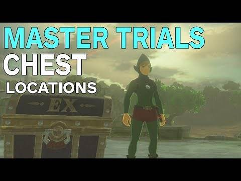 Zelda: Breath of the Wild - All Master Trials DLC Armor Chest Locations