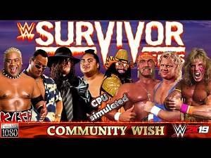 WWE2K19: Rikishi, TheRock, Yokozuna & Taker VS. Hogan, Savage, Warrior & Mr.Perfect | Community Wish