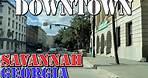 Savannah - Georgia - 4K Downtown Drive