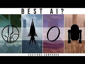 Which Sci-Fi Faction has the BEST AI? | Halo, Star Wars, Mass Effect, the Culture