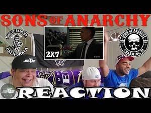 "SONS OF ANARCHY SEASON 2 EPISODE 7 REACTION ""GILEAD"""