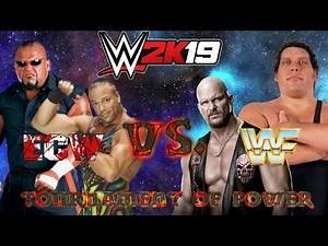 ECW vs WWF - WWE 2K19 Tournament of Power (Season 1)