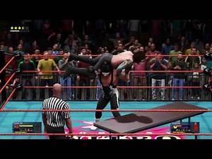 WWE 2K20 Sting vs Vampiro wcw 2000