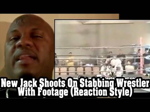 New Jack Shoots On Stabbing Wrestler With Footage (Reaction Style)