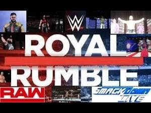 WWE 2K19 ROYAL RUMBLE WEEK 17 PPV MODERN UNIVERSE