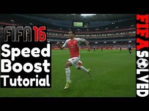 FIFA 16 Speed Boost Tutorial - Fast Pace Tips