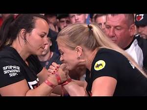 "BEST FEMALE ARMWRESTLER IN THE WORLD? - GABRIELA VASCONCELOS ""IRON ANGEL"" HIGHLIGHTS"