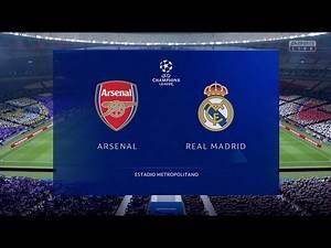 🇬🇧ARSENAL vs REAL MADRID 🇪🇸 | UEFA Champions League Final FIFA19 Champions Edition Gameplay | 4K