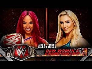 WWE Hell In A Cell Sasha Banks vs Charlotte Women's Championship