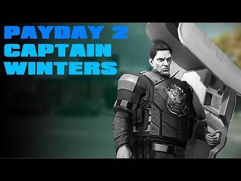 Payday 2 - Captain Winters (Guide)