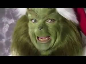 Grinch Impersonator - Make Up Application