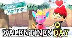 Animal Crossing New Horizons: VALENTINES DAY DETAILS (Exclusive Items, Event History & Comparison)