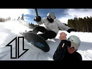 New Elbow Pads and Tips for Working Towards Laid-Out Heelside Carves